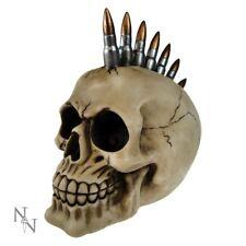 Bullet Mohawk Skull - 19cm 6 Inch 0801269092689 by Nemesis