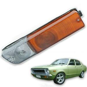 For 1975 76-80 Nissan Datsun 1200 B110 120Y Front Bumper Turn Right Signal Light