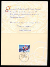 Australia 1995 Christmas Australia Post Greetings Card #C12305