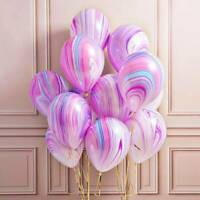12'' Marble Latex Balloons Wedding Baby Shower Birthday Party Balloon Decoration