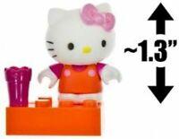 Mega Bloks Sanrio Hello Kitty mini figure figurine series 1 Cup block 3 pcs. new