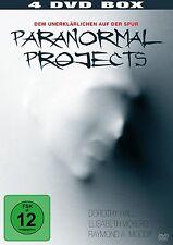 DOROTHY/VICKERS,ELISABETH/MOODY,RAYMOND A. HALL-PARANORMAL PROJECTS 4 DVD NEU