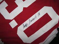 SERGE SAVARD Autographed 1992-2012 Ottawa Senators Jersey - LARGE