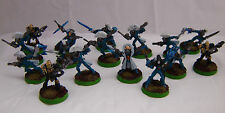 Warhammer 40K Eldar Harlequin Troupe painted inc death jesters  metal army lot