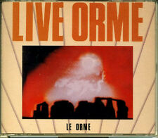 LE ORME Live Orme JAPAN Only 2 CD 1993 Long OOP! PINK FLOYD RARE!!