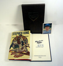 STEPHEN KING SIGNED AUTOGRAPH BLOCKADE BILLY HC BOOK CEMETERY DANCE W/ SLIPCASE