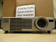 Epson EMP-713 3LCD Projector Beamer 1200 Lumens 1024 x 768 REMOTE 349 Hours