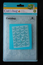 Cuttlebug Nat Embossing Folder 5 x 7