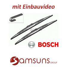 """Bosch Scheibenwischer Wischerblätter TWIN 601 575/400  23""""/16"""" 3397118304 FIAT"""