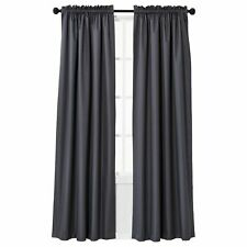 """63"""" x 42"""" Gray Braxton Thermaback Blackout Curtain Panel"""