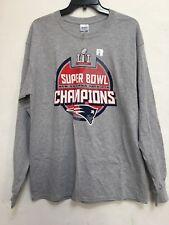 NWT NFL New England Patriots Men's T-shirt Sleeveless Super Bowl Long Sleeve *L