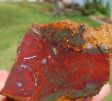 FIRE PIT JASPER --------1.10 lbs,Rock end Slab,Gemstone,Cabbing,lapidary,sphere