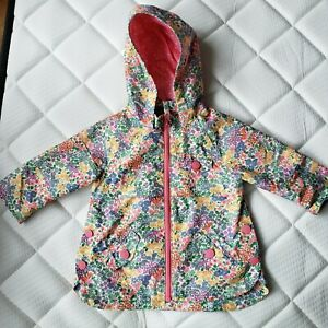 Girls Next Floral Raincoat 9-12 Months