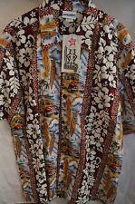 NEW Murf Wear Short Sleeve Button Hawaiian Surfing Shirt Size 2XL