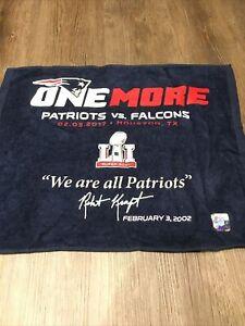 Super Bowl LI 51 - New England Patriots Rally towel!! 6x Champs LIII! Tom Brady!