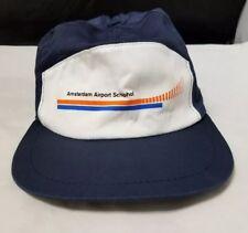 Amsterdam Airport Schipol Baseball Cap: Trucker Hat, Adjustable, Netherlands