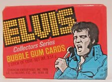 1978 Donruss ELVIS PRESLEY full pack of bubble gum trading cards