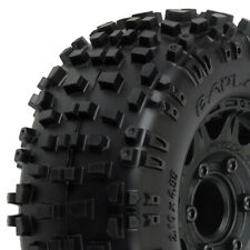 PROLINE BADLANDS 2.8 ALL TERR TYRES ON RAID 6x30 BLK WHEELS