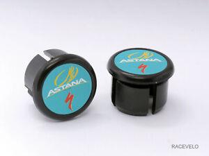 Specialized Astana bike Handlebar Plugs end Caps Tapones bouchons lenker new