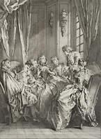 CARS; BOUCHER, Lit. Illust. zu 'La Critique de l'Ecole des Femmes', 18. Jh., Rad
