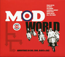 MOD WORLD ADVENTURES IN SKA, SOUL, BLUES & JAZZ - 2 CD BOX SET, HANK MARR & MORE