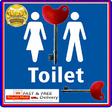 Disabled Toilet Key with Easy Turn Head Genuine Item 1st Class FREE POSTAGE INC