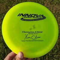 Rare PFN Twelve Time Champion Eagle X Mold Disc Golf Innova