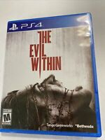 Evil Within (Sony PlayStation 4, 2014)CIB Free Shipping