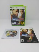 WWE SmackDown vs. Raw 2009 Featuring ECW (Microsoft Xbox 360, 2008) Complete