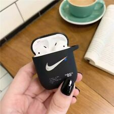off White X Nike Apple Airpod 1, 2 Hard Black Case Cover