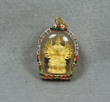 Chinese Buddhism Kwan-yin Guanyin Thousand Hand Thai Amulet Pendant Talisman #1
