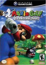 Mario Golf Toadstool Tour Nintendo Gamecube Complete