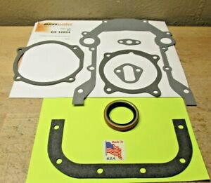 1954-1964 FORD MERCURY 239 256 272 292 312 V8 TIMING COVER GASKET SET BEST USA