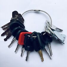 20 Keys Heavy Equipment / Construction Ignition Key Set