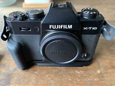 Fujifilm X Series X-T10 16.3MP Digital Camera - Black (Body Only) With Grip