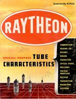 RAYTHEON SPECIAL PURPOSE TUBE CHARACTERISTICS PDF 196X.PDF