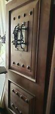Brand new Jeld Wen Aurora Fiberglass Mahogany Grain Exterior Door3/0 x 6/8