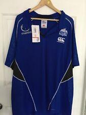 North Melbourne Kangaroos Mens AFL Premium Polo Shirt Sizes 5XL BNWT Mazda Ccc