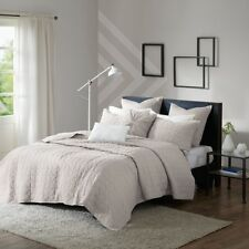 KING 7 Piece Jersey Quilted Coverlet Bedding Set by Urban Habitat NEW