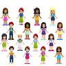 16PCS Girl friend princess ANDREA MIA OLIVIA doll building Minifigures block toy