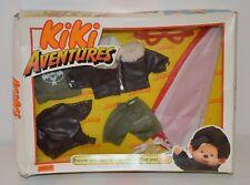 Coffret Outfit Parachutiste KIKI AVENTURES MONCHHICHI SEKIGUCHI AJENA Tenue 80's