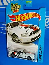 Hot Wheels 2015 Performance Series #11 '10 Ford Shelby GT500 White K&N