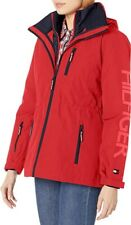 Tommy Hilfiger Womens 3 in 1 systems jacket Red, L NWOT