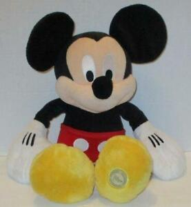 "LARGE DISNEY STORE CLASSIC MICKEY MOUSE 18"" BIG STUFFED PLUSH DOLL TOY"