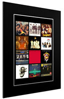 MOUNTED / FRAMED PRINT SLADE DISCOGRAPHY - 3 SIZES POSTER GIFT ARTWORK