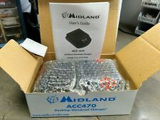NEW MIDLAND ACC-470 Desktop Charger For SP-410 Radios Old Stock