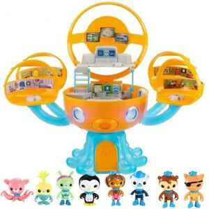 Octonauts Octopod Castle Playset Barnacles Peso Kwazii Action Figure Toy Kids...