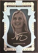 UD All Time Greats Master Collection Blue Maria Sharapova 10/20 AUTO Signature