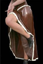 191 Latex Rubber Gummi Ruffles long Skirts maxi dresses catsuit customized 0.4mm