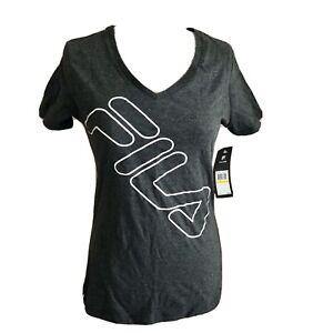 Fila Gray Tshirt Womens Size M